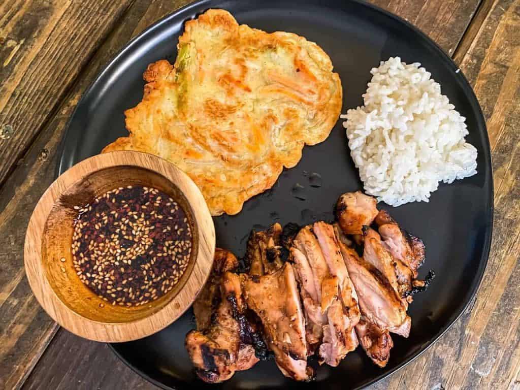 Korean chicken teriyaki recipe