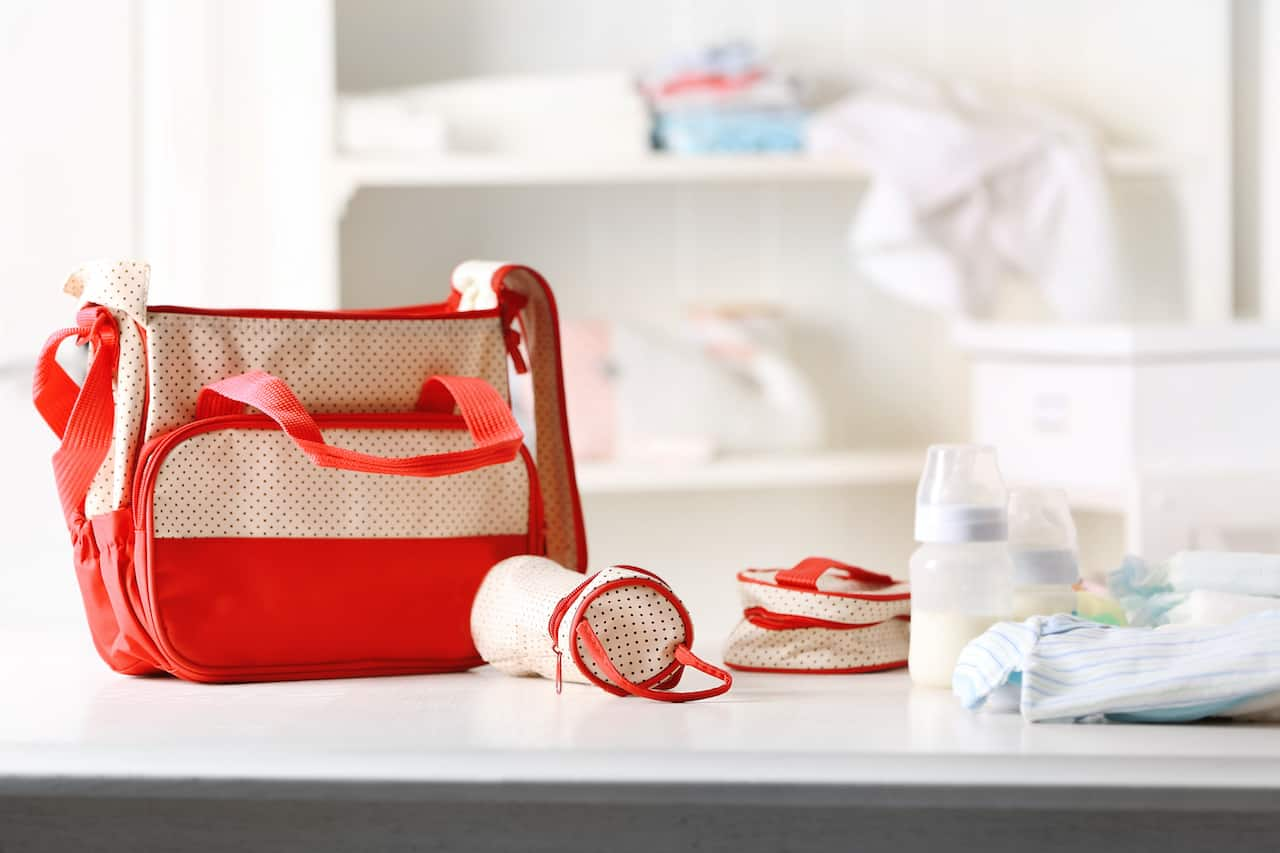 The Minimalist Diaper Bag Essentials For Baby With Free Checklist
