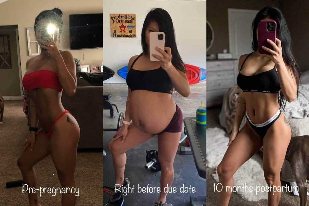 postpartum weight loss using macros