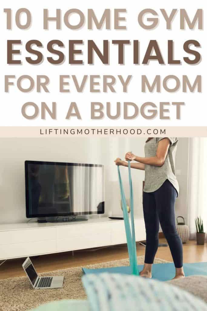 home gym essentials for moms