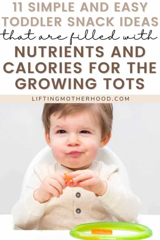 pinterest pin toddler snack ideas