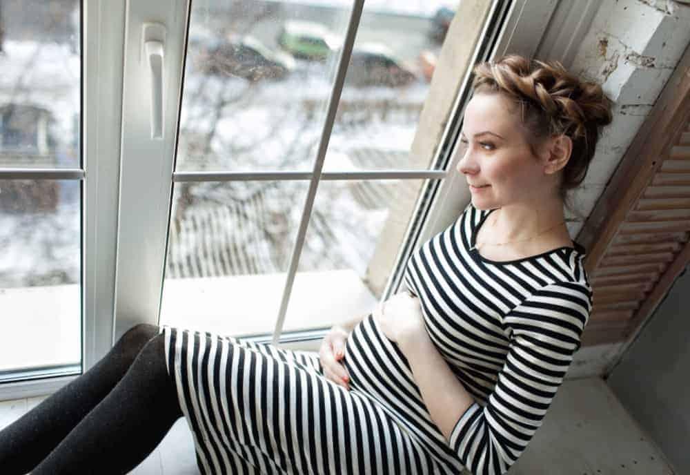 winter pregnancy blog post
